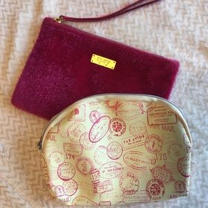 Set Of 2, New With Tags, Make Up Bags By Ipsy